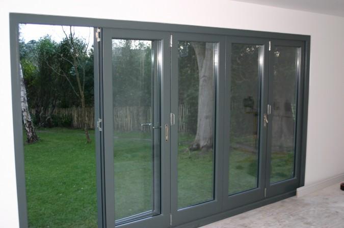 hardwood bi fold doors
