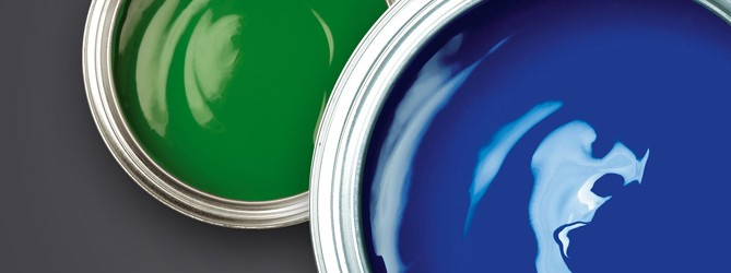 Picture of two tins of micro porous paint