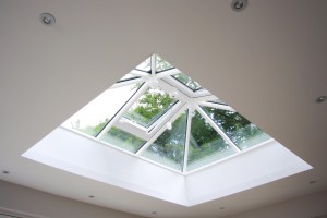 Timber Roof Lantern installed