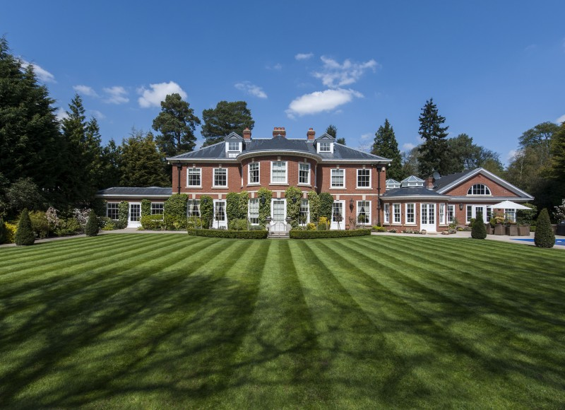 High End Timber Joinery at Highfield Manor