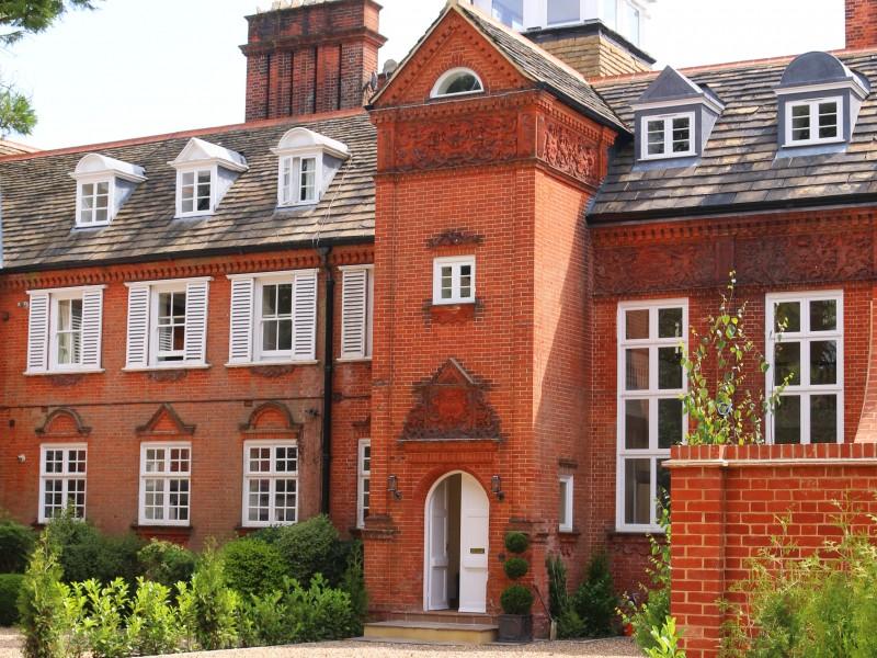 Beautiful Sliding Sash Windows at The Manor House