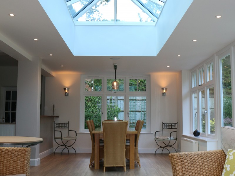 Elegant Timber Joinery Orangery in Cobham